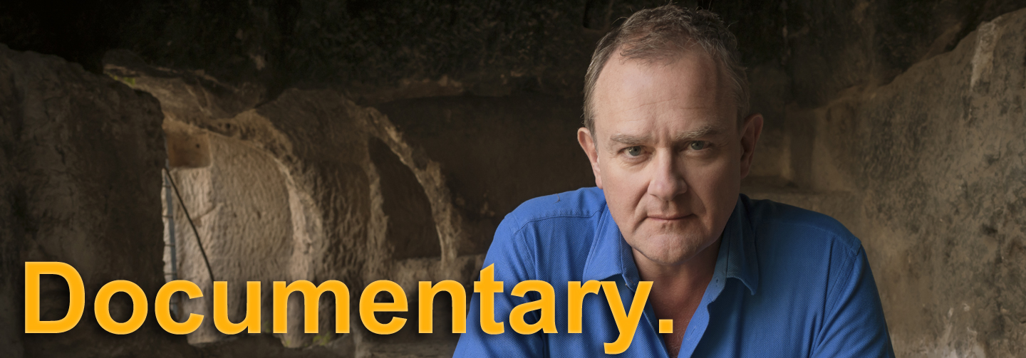 Hugh Bonneville traces the last days of Jesus' life in Jesus: Countdown to Calvary