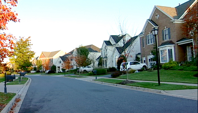 A suburban subdivision in New Jersey.