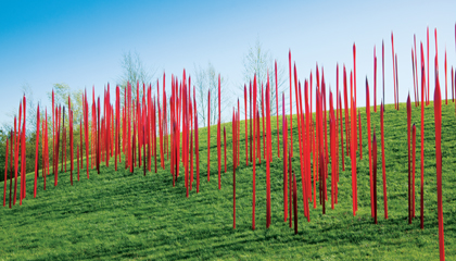 Red Reeds by Dale Chihuly