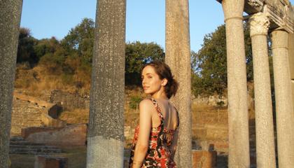 albanian-girl-self