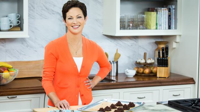 Chef, nutritionist, and New York Times best-selling author Elllie Krieger.
