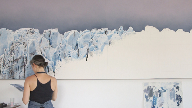 Visual artist Zaria Forman