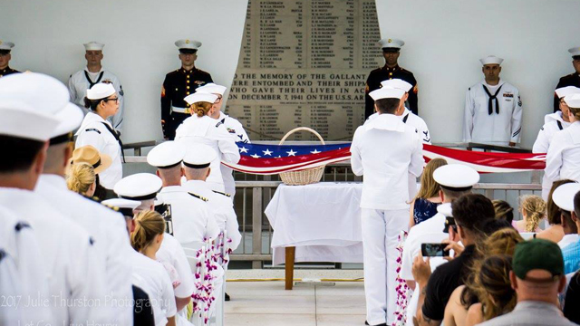 The film follows the family of Raymond Haerry Sr. as they travel 5,000 miles to place his ashes aboard the USS Arizona Memorial at Pearl Harbor in Hawaii.
