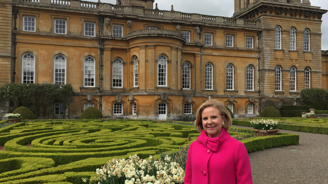 Host Holly Holden visits Blenheim Palace in the U.K.