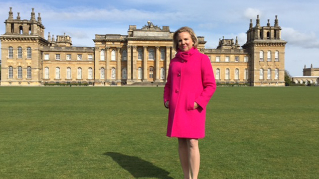 In episode 101, host Holly Holden visits Highclere Castle in Hampshire, England.