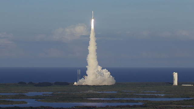 Atlas V Lift-off for OSIRIS-REx Mission. September 8,2016