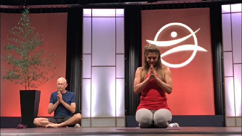 Mindfulness is in important part of Stacey's approach to yoga