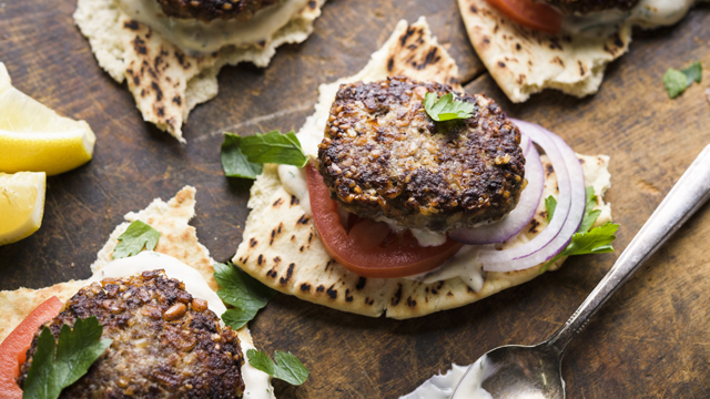 Cook Beef Kibbeh and other Beirut fast foods