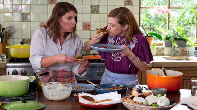 Pati is joined by chef Vivian Howard