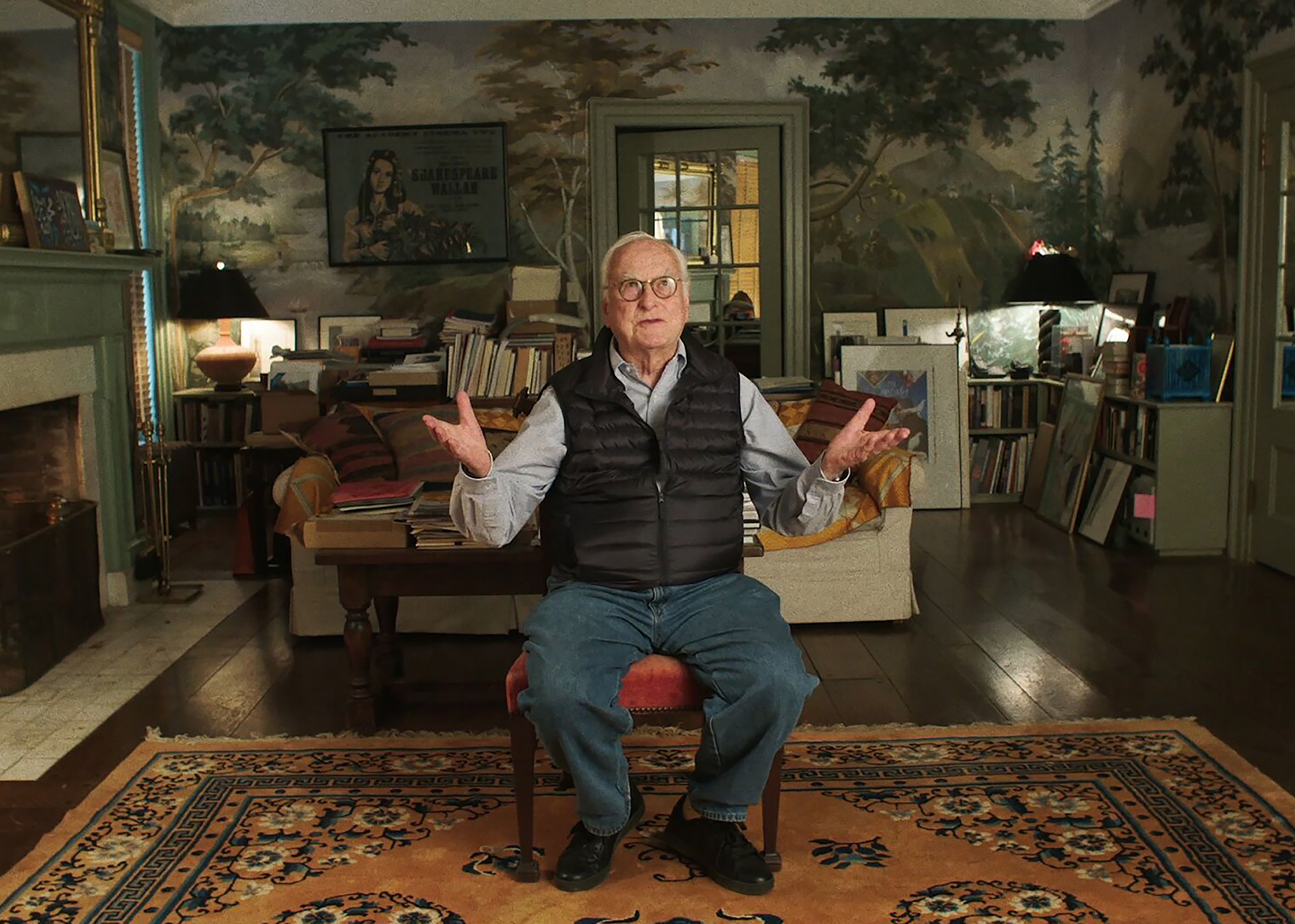 Filmmaker James Ivory gives a tour of his Hudson Valley home.