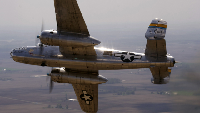 B-25 bomber crews from all over the country gather to honor the Doolittle Raiders