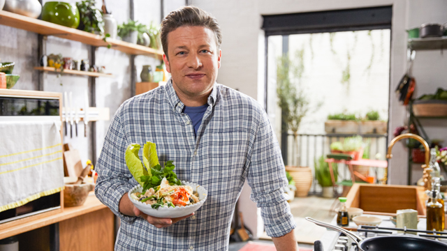 You won't even miss the meat with Jamie Oliver's recipes